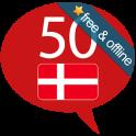 Aprenda Dinamarquês - 50 langu