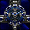 SAPHIR Luxury Clock Widget