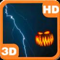 Pumpkins Scary Storm Lightning