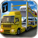 3D Car Transport Trailer Free