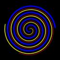Spiral-hands Clock Live Wallpaper