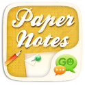 GO SMS Paper Notes