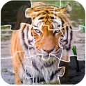 Wild Lion And Animal Jigsaw Puzzles