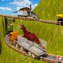 Jungle Dino Truck Transport 3D