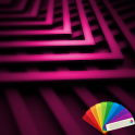 Zig Zag Pink XP Theme