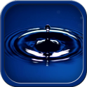 Aqua Droplet Locker Live Theme