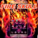 Tema fantasma cráneo del fuego