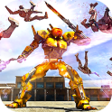 Futuristic Robots War Hero 3D