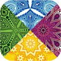 Kaleidoscope Mandala Color Tap