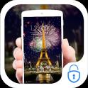 Eiffel Tower Night Paris Theme