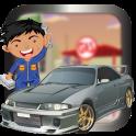 Car factory & repair Shop game