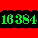 16 384