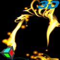 Golden Particle Live Wallpaper