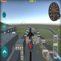 Flying Bike Rider 2017 3D