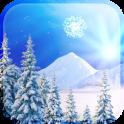 Snowfalling Live Wallpaper