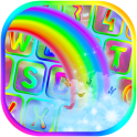 Rainbow Keyboard Theme App