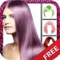 Hair color changing app