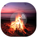 Romantic Fire Screen Fire sounds Fire wallpaper
