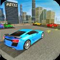 3D-Auto-Parken-Spiel