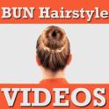 BUN Hairstyles Step VIDEOs