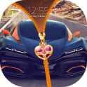 Super Cars Zipper Lock Screen