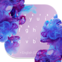 Diffusion Purple Keyboard Theme