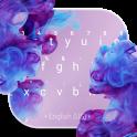 Diffusion Purple Keyboard Theme