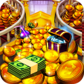 Princess Gold Coin Dozer Party