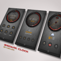 BigDark Clock for kustom KLWP