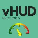 vHUD for F1 2016
