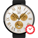 Peer Gold watchface by Pluto
