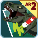 3D Coloring Dino Sketchbook