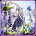 Elegante Unicornio Fondo de pantalla en vivo