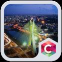 City Night C Launcher Theme