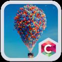 Color Balloon C Launcher Theme