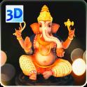 3D Ganesh Live Wallpaper