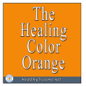 Healing Color of Orange