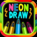Neon drawing