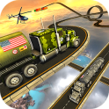 Army Truck Hard Driving Tracks