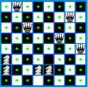 Chess Queen and Knight Problem
