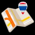 Map of Thailand offline