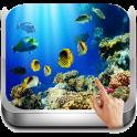 3D Aquarium Tapeten