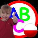Alfabet polski dla dzieci abecadło