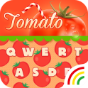 Fruit Keyboard Theme - Tomato