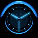 A-BLUE Analog Clock Widget