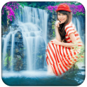 Nature Waterfall Photo Frame