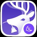 Forest Deer Fantasy theme&HD Wallpaper