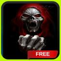 Evil Vampire Skull Live Wallpaper Theme Background