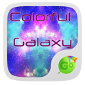 Colorful Galaxy Keyboard Theme