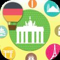의 플래시 카드와 함께 독일어 배우기 (무료)